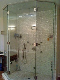 glass shower  | Chicago Glass Steam Shower Enclosures | Chicago Steam Shower Glass ...