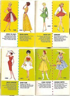 60er Exclusive Fashions by Mattel 6 by diepuppenstubensammlerin, via Flickr