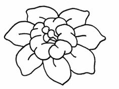 Resultado de imagen de flores para dibujar faciles Leather Flowers, Coloring Pages, Motifs, Pasta, Easy To Draw Flowers, Coloring Pages Of Flowers, Easy To Draw, Designs To Draw, Print Coloring Pages