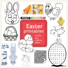 EASTER - printables