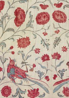 P Kaufman Fabrics Puddy Cherubs Toile  Brick Red /& Cream Stripes Upholstery