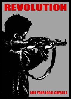 Guerrilla, Revolution, Movie Posters, Movies, Wrestling, Films, Film Poster, Popcorn Posters, Revolutions
