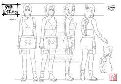 Commission for I hope she like it. Reicheru - ® XxReiReixX Naruto - ® Kishimoto Masashi A. Naruto Sketch, Naruto Drawings, Naruto Art, Anime Naruto, Naruto Shippuden Characters, Naruto Shippuden Sasuke, Hinata, Character Model Sheet, Character Modeling