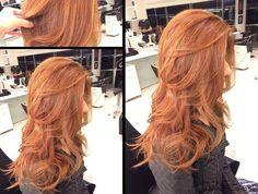 "892 Likes, 7 Comments - Marco Antonio de Biaggi (@mbiaggi) on Instagram: ""A tendência do cabelo ruivo pode ser adotada por todas as mulheres. A tonalidade inspira as…"""