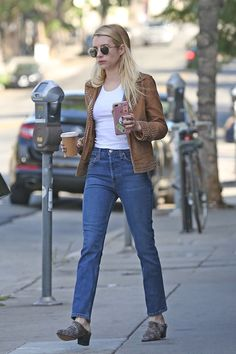Boho Outfits, New Outfits, Fashion Outfits, Office Looks, Casual Street Style, Street Style Women, Casual College Outfits, Emma Roberts Style, Tokyo Fashion