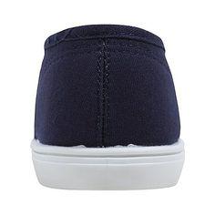 8026fc872b Canvas Twist Front Ballet Shoes
