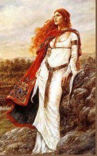 Irish Goddess Of Beauty   branwyn daughter of llyr is a daughter of llyr and penarddun known