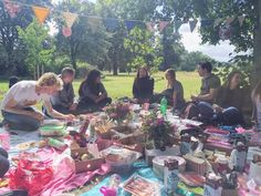 Yesterday was the big day, the day of the Blogger Picnic in the Park, and what a…