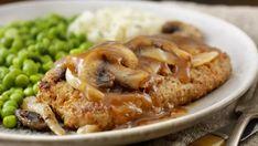 Karé na cibuľovej omáčke   Recepty.sk Pork, Meat, Chicken, Kale Stir Fry, Pork Chops, Cubs
