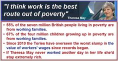 """If """"work is the best route out of poverty"""" why are so many poor people in work? Scottish Man, Tory Party, Scottish Independence, Things To Think About, Good Things, Uk Politics, British People, George Carlin, Work Family"""