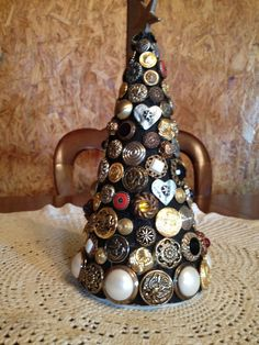 Hey, I found this really awesome Etsy listing at http://www.etsy.com/listing/159190353/vintage-button-tree-table-decor-button