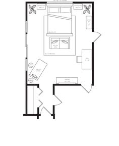 Master Bedroom Layout master bedroom furniture layout - google search | home | pinterest