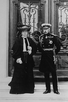 The Duke and Duchess of Connaught; Princess Louise Margaret (nee Princess of Prussia) and Prince Arthur of the United Kingdom