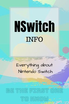 NSwitch-Info is a new platform that aims to present everything new about Nintendo Switch.  Thank you very much for your attention, and follow me in case if you want to support the newfound platform. Have a great day c: Nintendo Switch News, Everything, Perspective, Fun Facts, Investing, Funny Facts, Interesting Facts