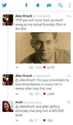 Reminder: Grunkle Stan is based off of Alex Hirsch's Grandpa Stan.