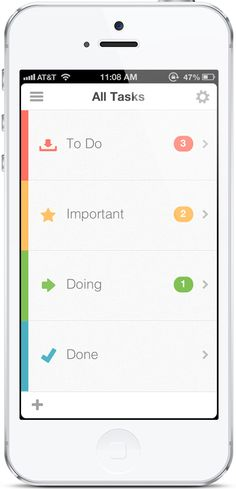 Busy. Stop procrastinating, get busy! Awesome to-do iPhone app!