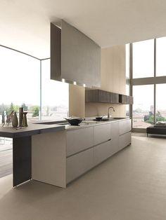 Modern Luxury Kitchens For A Grand Kitchen Luxury Kitchen Design, Luxury Kitchens, Interior Design Kitchen, Home Kitchens, Kitchen Decor, Küchen Design, House Design, Grand Kitchen, Cocinas Kitchen