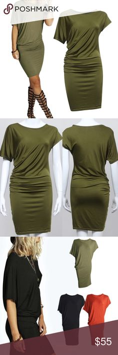 Sexy is Back Bodycon Dress Please Read ALL info before Asking Questions  Brand New in package - Fara Boutique  Color: Green Material: 85% Polyester 15% Spandex (YES STRETCH) Model is wearing a size large  No Refunds •Serious Buyers welcome to negotiate - Buyers are responsible for knowing their size *Thank You* •FYI - Do not self promote on my listings. Do not ask to try on & if you saw this listing for a lower price then purchase it on someone else listing thank you & don't be…