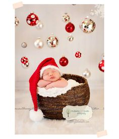10 Divertidas Ideas para Sesiones de Recién Nacidos // 10 Funny Ideas to Newborn Sessions … #1