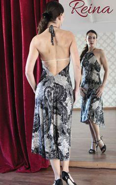 Lace tango dress Reina