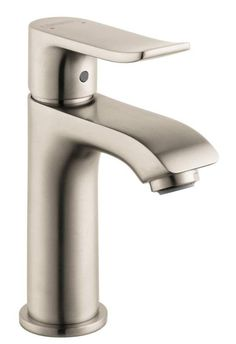 View the Hansgrohe 31088 Metris Bathroom Faucet Single Hole Faucet with Lever Handle - Free Metal Pop-Up Drain Assembly with purchase at FaucetDirect.com.