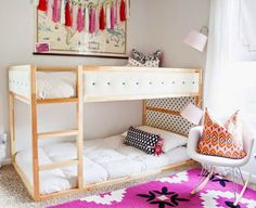 mommo design: IKEA HACKS - Upholstered Kura