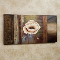 Sentimental Spring Canvas Wall Art Multi Earth