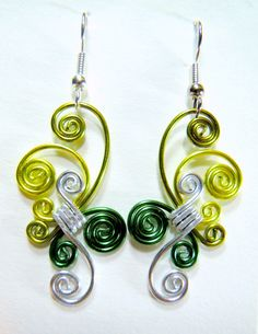 Whirling Winds Hypo Allergeinc Earrings by melissawoods on Etsy, $15.00