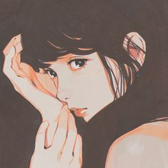 Brown by Kuvshinov Ilya https://www.patreon.com/posts/3717440 Cool-down study from photo in Japanese magazine!
