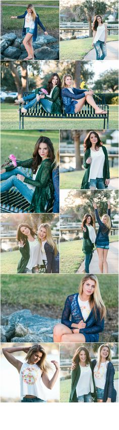 Adorn Apparel Spring Collection 2016. spring outfit, spring cardigan, ripped shorts, ripped jeans, distressed denim, distressed shorts. green sweater, blue sweater.