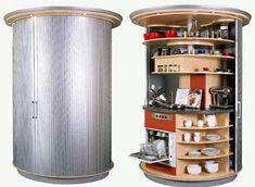 revolving circular kitchen
