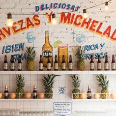 Mexican food and ice cold beer. Don't miss the Lupita jugos!