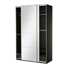 PAX Wardrobe with interior organizers - soft closing damper - IKEA  PAX Wardrobe with interior organizers $699.00	 The price reflects selected options Article Number:  590.035.44 10-year Limited Warranty. Read about the terms in the Limited Warranty brochure. Read more Size 59x26x93 1/8 ""