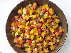 Grilled Pineapple-Jicama Salsa Recipe : Bobby Flay : Food Network - FoodNetwork.com