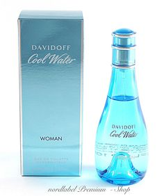 Davidoff Cool Water Woman 100 ml Eau de Toilette EDT Spray NEU & OVP!