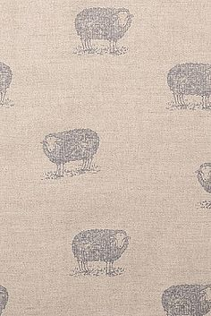 Jacob Sheep Fabric - Emily Bond