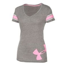Under Armour® Women's Big Logo Undeniable Short Sleeve V-neck T-shirt