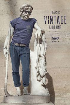 Traid: Vintage statue, 1