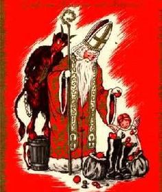 krampus and st nick - Google Search