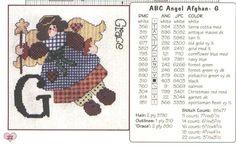 ABC Angel Afghan 12/46