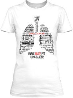Lung Cancer Awareness!   Teespring