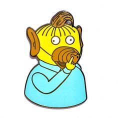 rAlf Limited Edition Simpsons X Alf Mashup Pin by PESKYstuff