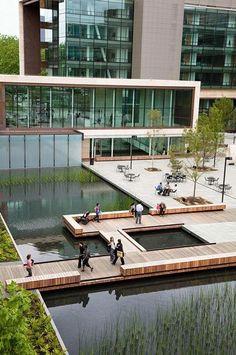 Bill & Melinda Gates Foundation Campus by Gustafson Guthrie Nichol