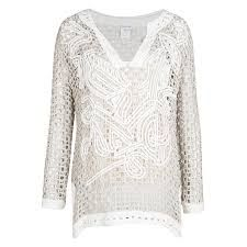 Oscar De La Renta knit - Поиск в Google Knitting, Blouse, Lace, Long Sleeve, Sleeves, Sweaters, Tops, Google, Women