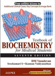 Textbook of Biochemistry for Medical Students PDF, By DM Vasudevan, ISBN: We are glad to present the Seventh edition of the Textbook of. Medical Student Humor, Medical Assistant Quotes, Medical Textbooks, Medical Posters, Medical Laboratory Science, Medical College, Medical Students, Medical School, Nursing Students
