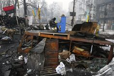 """Ukraine. Kiev. Euromaidan"", Ukraine, Current Affairs, by Vladyslav Musiienko"