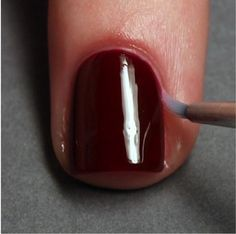 Correct Nail Polish Mistakes Quickly, use a brush and some nail polish remover to create a clean line around the nail and successfully trick your friends into thinking a professional did your nails.