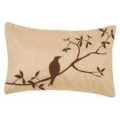 """I pinned this Bird 13"""" x 20"""" Pillow from the Natural & Neutral event at Joss and Main!"""
