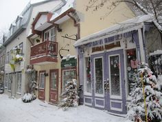 Rue Du Petit Champlain!