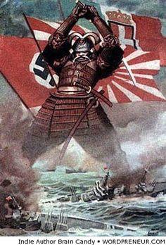 Japan ww2 propaganda poster